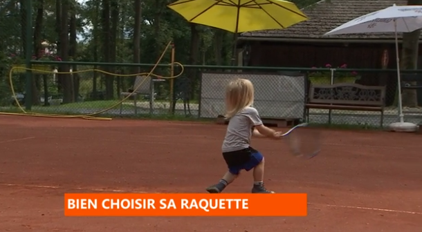 Tennis : bien choisir sa raquette