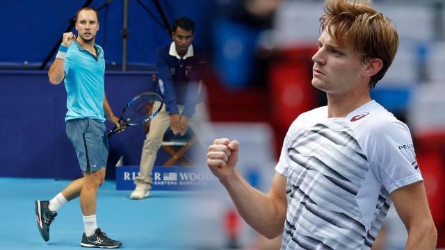 Tennis : fin de saison en force pour David Goffin et Steve Darcis  !