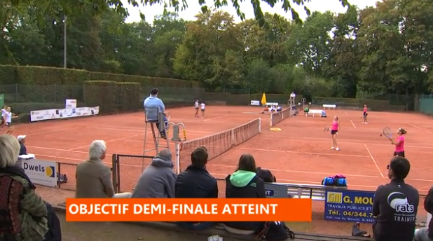 Tennis: Interclubs dames du TC Embourg