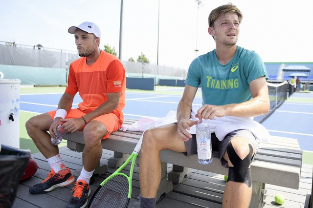 Tennis : situation contrastée pour Steve Darcis et David Goffin