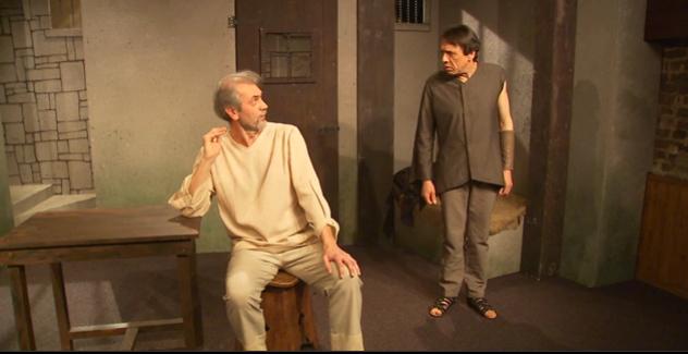 Théâtre Arlequin : l'évasion de Socrate