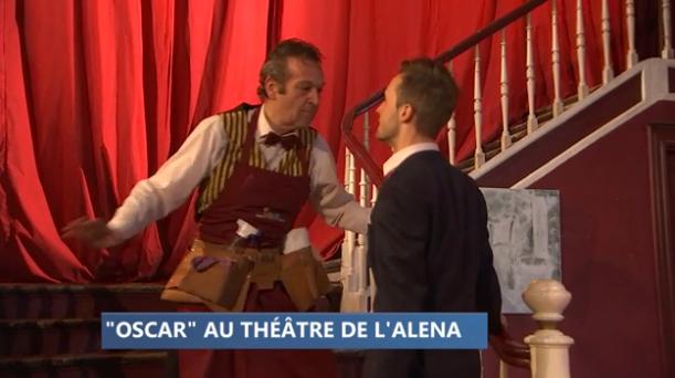 """Théâtre : """"Oscar"""" à l'Alena"""
