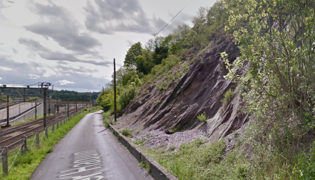 Thier Haquin : une zone de roche instable doit être retirée