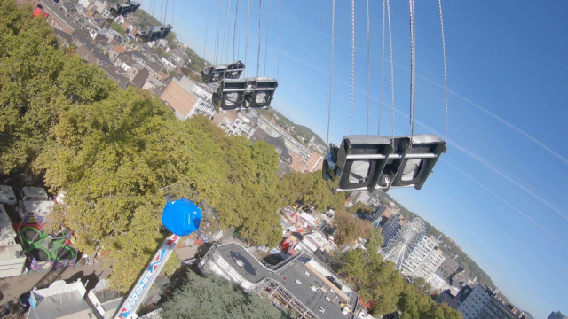 Top of the World: la nouvelle attraction sur la foire de Liège