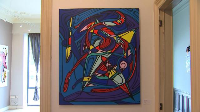 Toska expose ses oeuvres récentes au Souplex