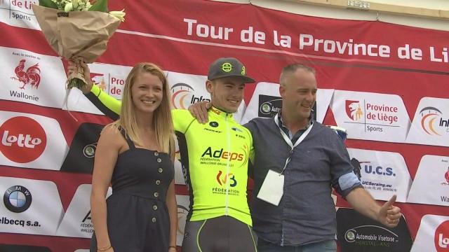 Tour de la Province : le Liégeois Tom Paquot s'impose au sprint sur la quatrième étape