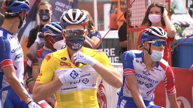 Saive accueille le Tour de Wallonie en toute sécurité