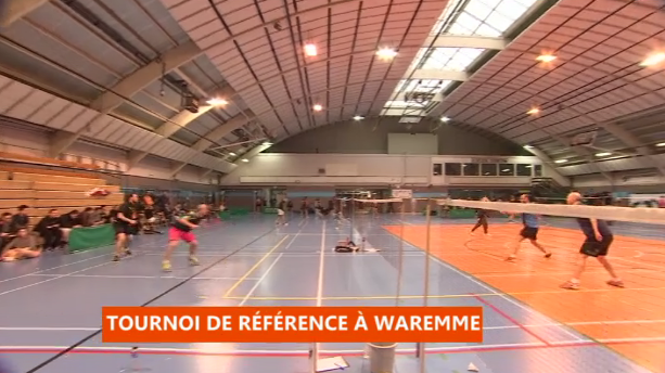 Tournoi du badminton club de Waremme