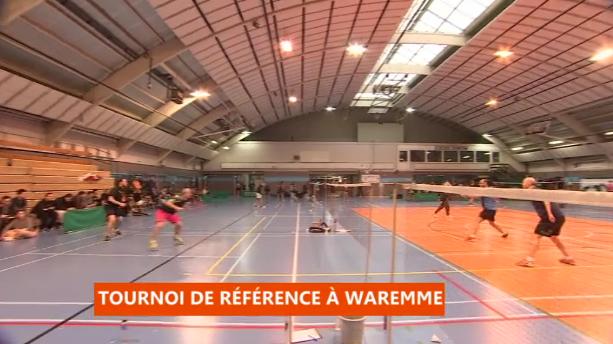 Tournoi du badminton club de Waremme