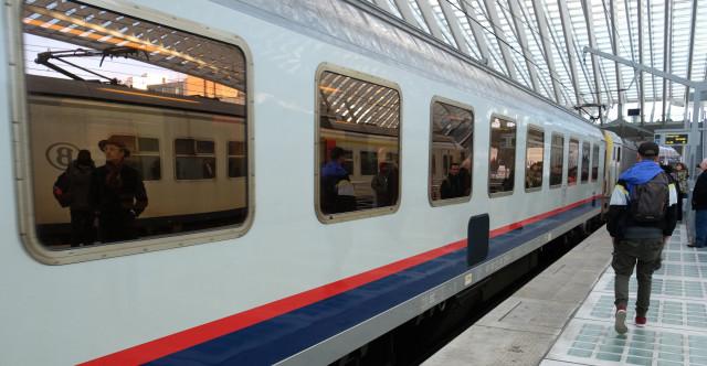 Trafic ferroviaire perturbé entre Liège et Louvain.