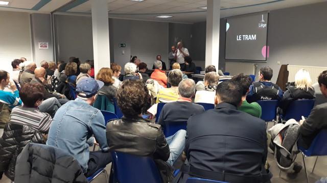 Tram : information aux riverains à Saint-Léonard