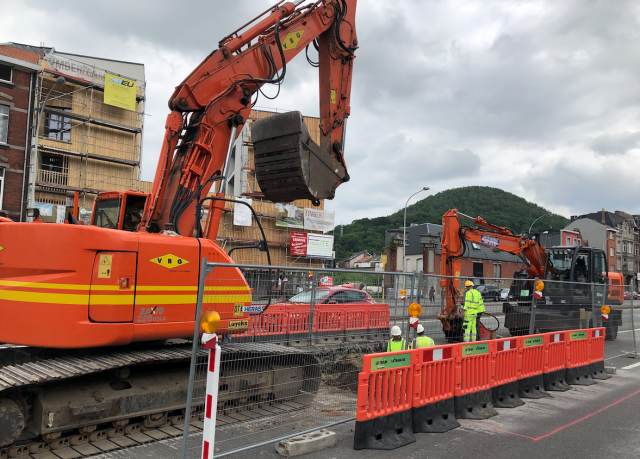 Tram : de nombreux travaux ponctuels au centre de Liège