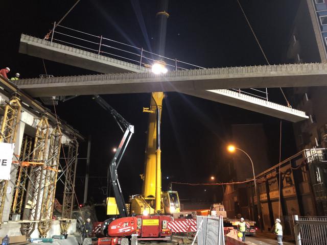 Tram En Commun S3#11 :  un tout nouveau pont des Tilleuls