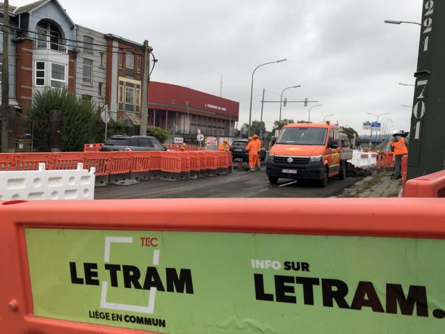 Tram En Commun S3#5 : création de carrefours sur les quais de Sclessin