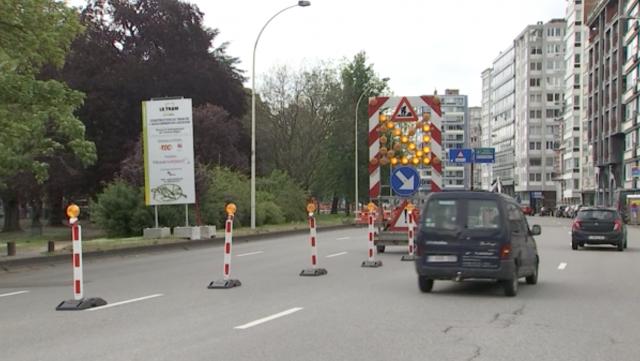 Tram : la trémie Charlemagne définitivement fermée dès le 15 juin