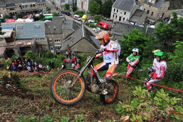 Trial : une manche du championnat du monde à Comblain