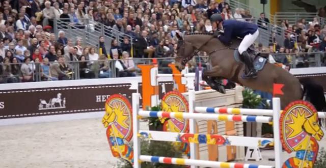 Trois Liégeois au Jumping Hermes à Paris