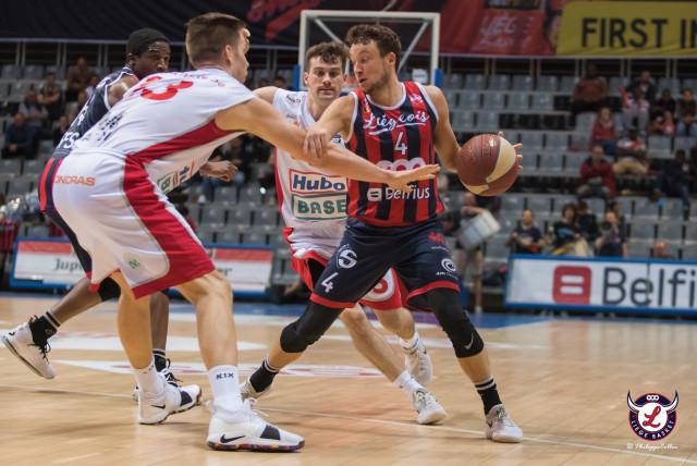 Trois nouveaux joueurs à Liège Basket