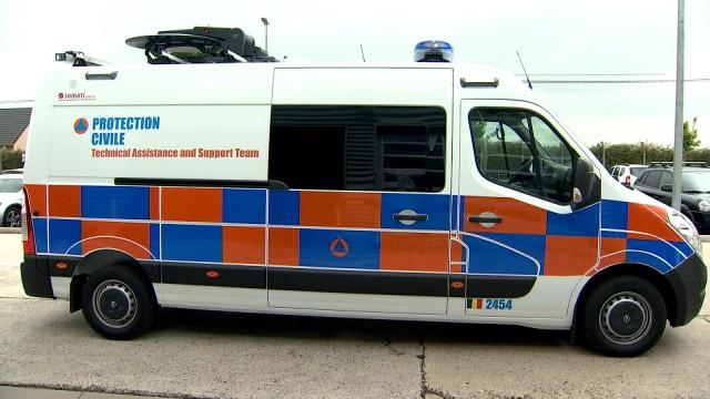 Protection Civile : 3 nouveaux véhicules pour le défilé du 21 juillet