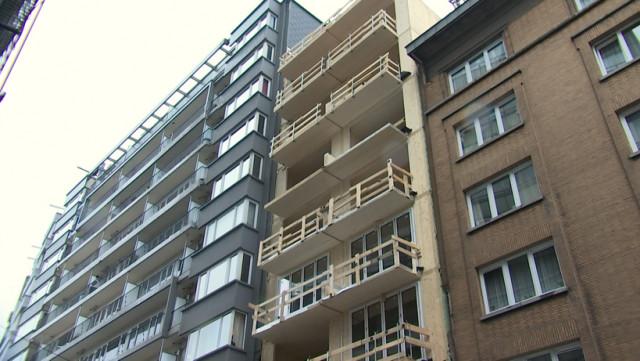 Un building entièrement en bois à Liège