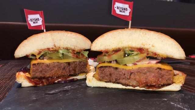 Un burger 100% sans boeuf