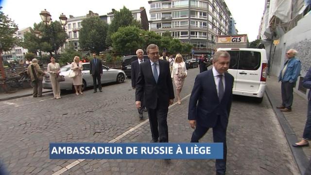 Un carillon et un ambassadeur de Russie à Liège