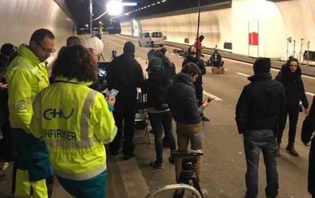 Tunnel de Cointe : au rythme du cinéma