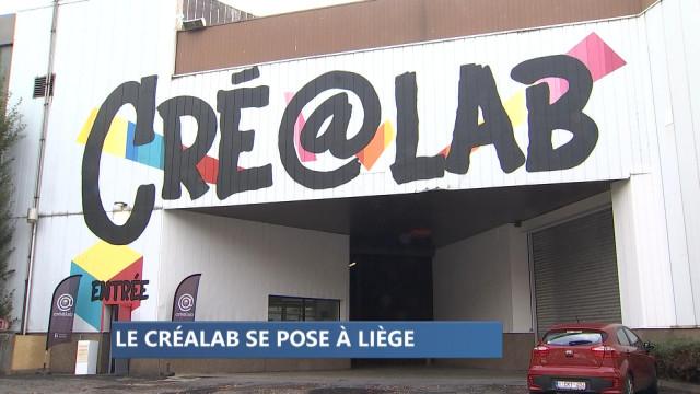 Un hangar pour héberger le Cré@lab à Liège