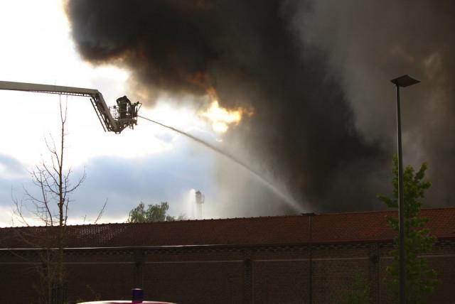 Un incendie ravage une maison à Héron