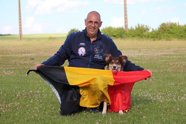 Un Lincentois et son chien au Championnat du monde d'obédience