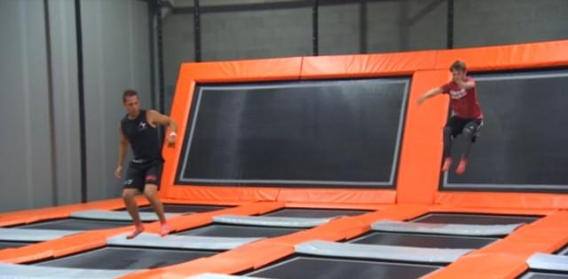 Un max de trampolines et de fun à Awans!