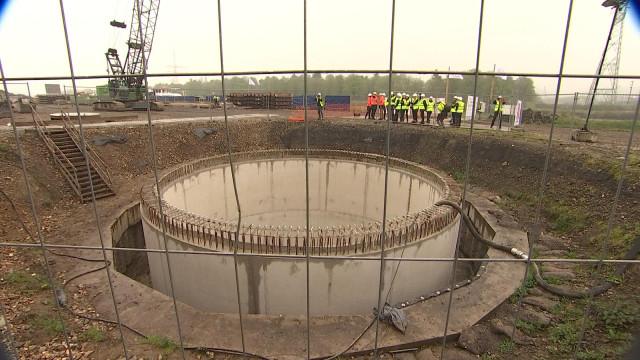Un micro-tunnel permettra une liaison électrique avec l'Allemagne