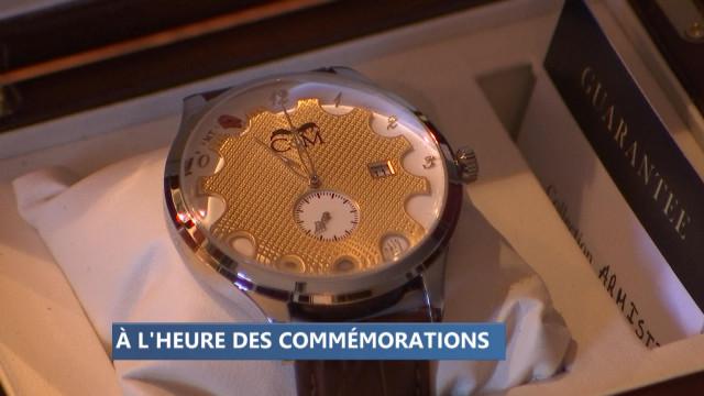 Une montre liégeoise offerte à Trump et Macron