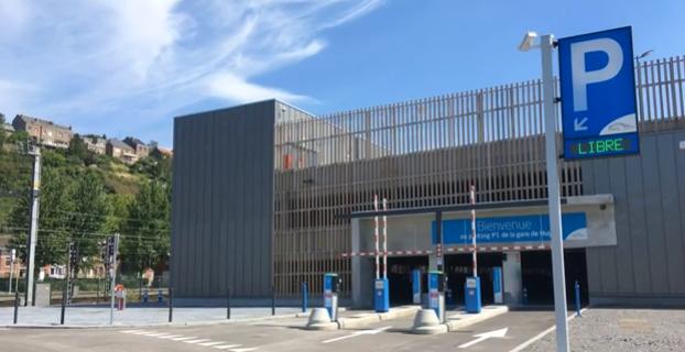 Un nouveau parking à la gare de Huy