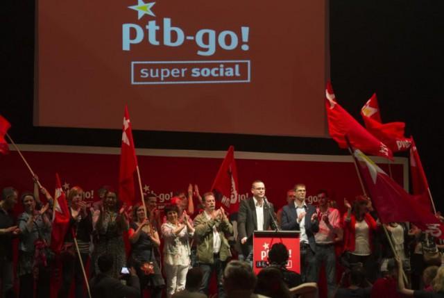 Un nouveau sondage donne le PTB en tête en Wallonie