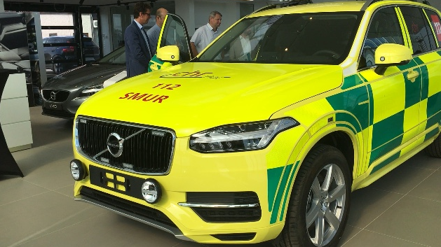 Un nouveau véhicule d'urgence au CHR de Huy