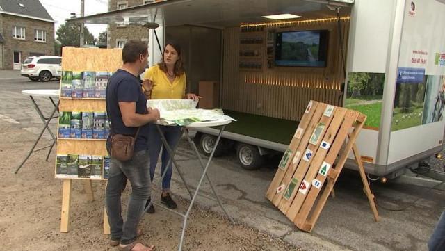 Un office du tourisme mobile pour Ferrières