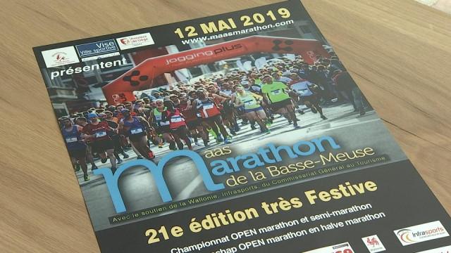 Un parcours totalement inédit pour le 21ème Maasmarathon