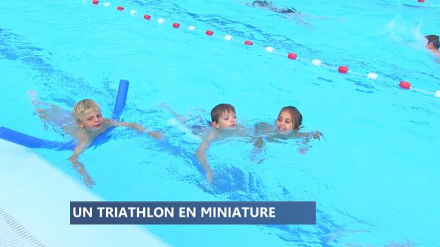 Un succès de foule pour le Triathlon des petits