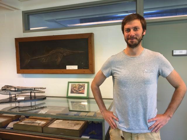 Valentin Fischer (Ulg) découvre un super prédateur marin