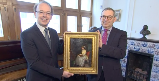 Un tableau de Jean-Joseph Ansiaux confié au Musée Grétry