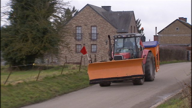 Un tracteur épandeur électronique, pour une meilleure gestion
