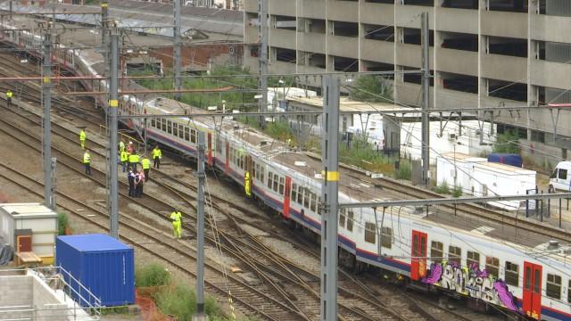 Un train déraille près de Liège-Guillemins - des dégâts sur 60 mètres de voie