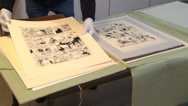 Hergé, Franquin, Jacobs et Cie au Musée des Beaux-Arts de Liège