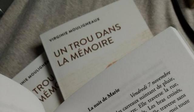 Un trou dans la mémoire, un recueil de nouvelles par Virginie Mouligneaux