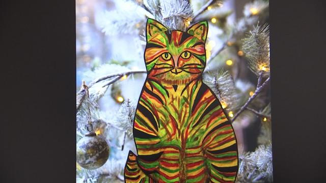 Une centaine de chats peints à Hannut