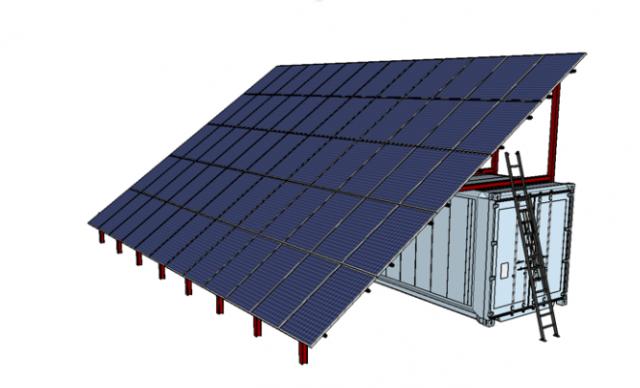 Une centrale électrique solaire mobile made in Liège