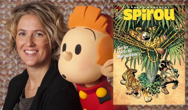 Une Liégeoise rédactrice en chef du journal Spirou