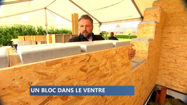 Une société liégeoise invente la maison 'LEGO'