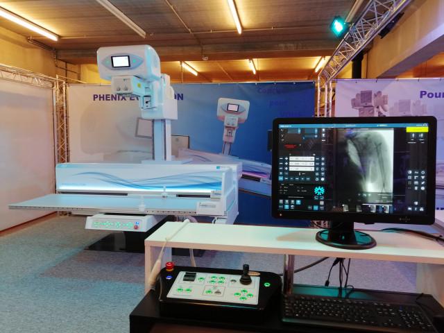 Une table de radiologie conçue à Ans séduit la France
